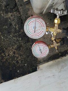 pressure-test-at-condensing-unit